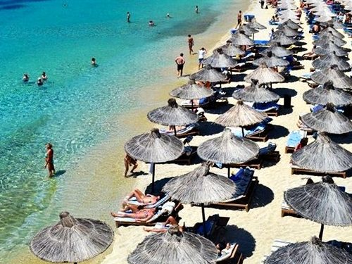Psarou Beach - Ψαρού Παραλία Μύκονος