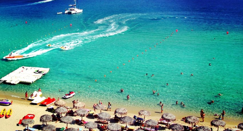 Kalo Livadi Mykonos Beach