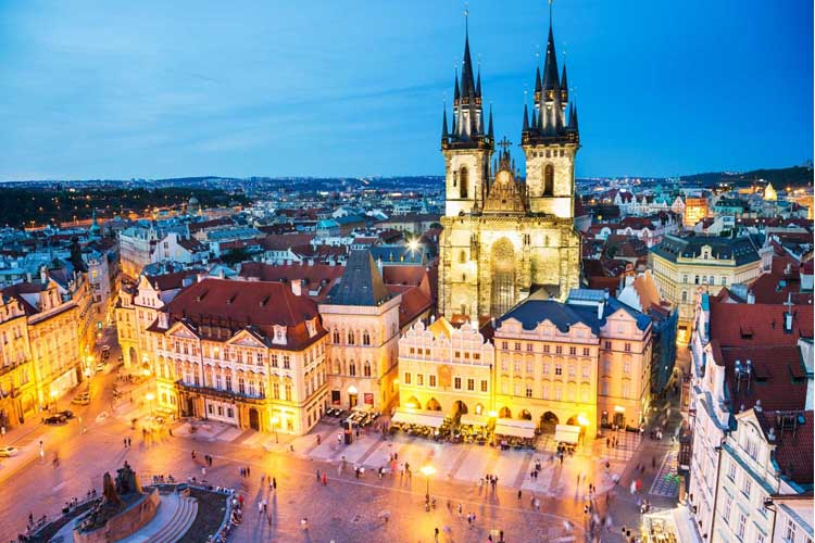 Prague hotels online booking