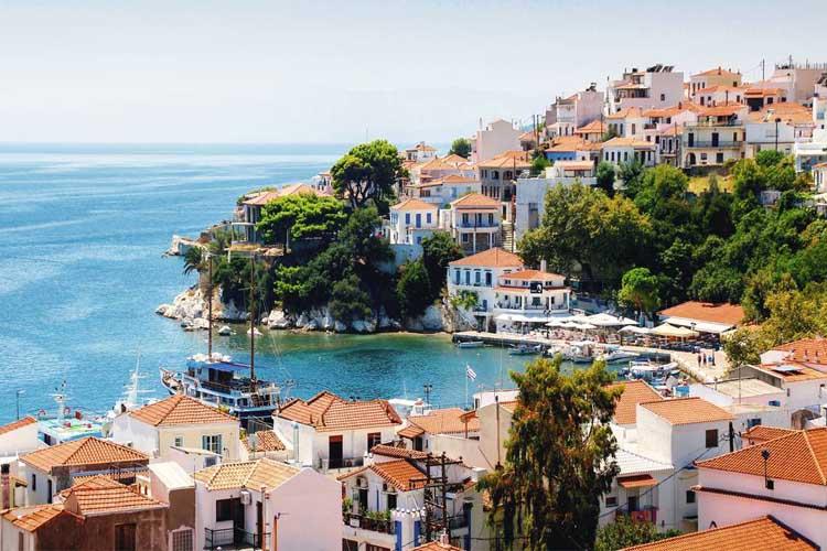 Skiathos hotels online booking
